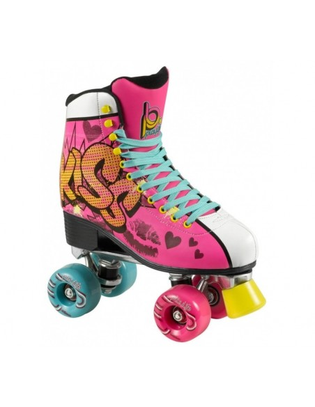 PATINES PLAYLIFE ROLLERSKATES KISS