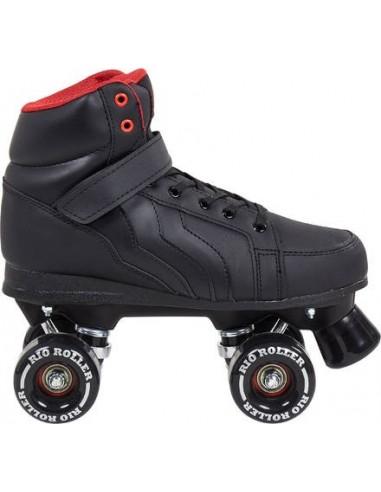 Rio Roller Kicks Quad Skates black