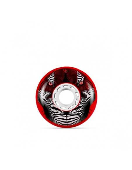 UNDERCOVER WHEELS FSK/PB LINE Tiger (Bullet Radius) 80mm/86a, red 4-Pack